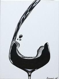 Fest, Weinglas, Wein, Luxus