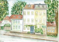 Thüringen, Jena, Altstadt, Historische gebäude