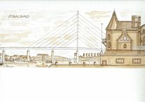 Stralsund, Mecklenburg, Brücke, Vorpommern