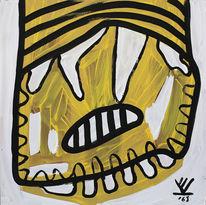 Gelb, Bienenkunst, Kryptokunst, Biene