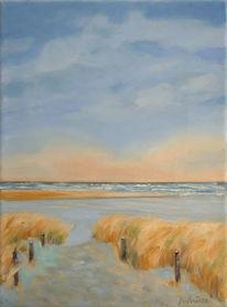 Langeoog, Licht, Dünen, Landschaftsmalerei