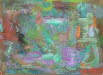 Abstrakter expressionismus, Bunt, Abstrakte malerei, Wild