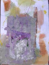 Gouachemalerei, Abstrakter expressionismus, Informel, Abstrakte malerei