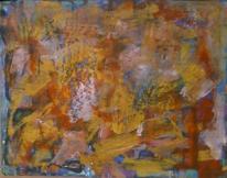 Landschaft, Abstrakt, Abstrakte malerei, Sturm