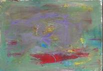 Abstrakter expressionismus, Abstrakt, Rot lila, Informel