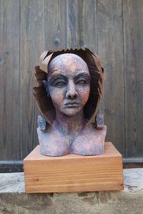 Büste, Frau, Figural, Europa