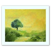 Natur, Druck, Landschaft, Malerei