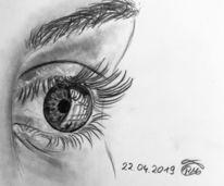 Menschen, Malerei, Natur, Augen