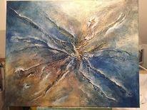Braun, Malerei acryl, Abstrakt, Malerei modern