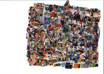 Kino, Collage, Tv, Bunt