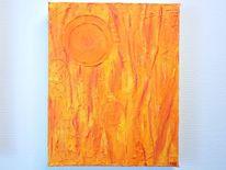 Acrylmalerei, Kunstwerk, Abstrakt, Farben