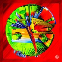 Digi art, Digitale kunst, Abstrakt