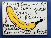 Mozart, Banane, Sonne, Urlaub