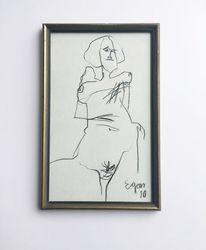 Akt, Menschen, Zeichnungen