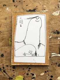 Vater, Portrait, Zeichnungen,