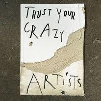 Leicht verrückt, Vertrauen, Zeichnungen,