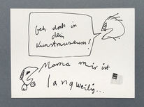 Langeweile, Yesart, Kunstmuseum, Zeichnungen