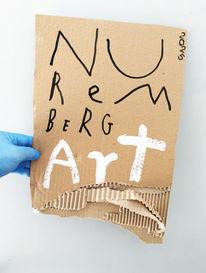 Nürnberg, Kultur, Plakatkunst, Mischtechnik