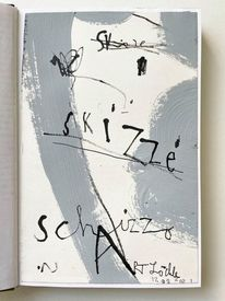 Schizzzo, Skizze, Mischtechnik