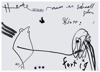 Skizze, Skizzenbuch, Art löchle, Zeichnungen
