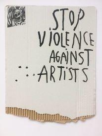 Yesart, Yes, Gewalt, Zeichnungen
