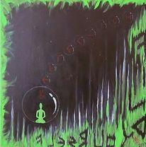 Acrylmalerei, Mischtechnik, Malerei,