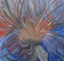 Malerei acryl, Mischtechnik, Acrylmalerei