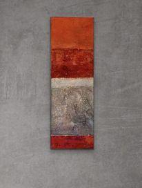 Fundstück, Collage, Struktur, Pigmente