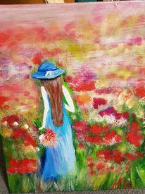 Pinnwand, Blumenwiese