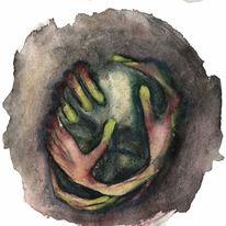 Verfolgung, Angst, Hilfe, Halluzination