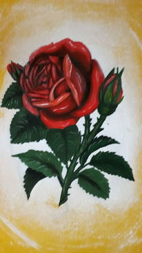 Farben, Blumen, Licht, Malerei