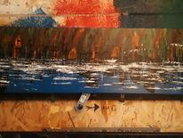 Abstrakt, Landschaft, Licht, Malerei