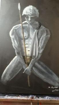 Schwarz, Modern art, Weiß, Menschen