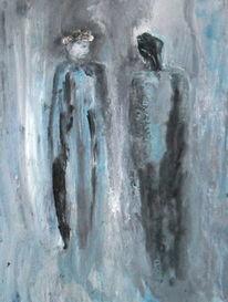 Menschen, Person, Malerei,