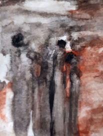 Menschen, Licht, Lichtblick, Malerei
