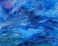 Meer, Fisch, Sturm, Malerei