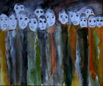 Frauenchor, Singen, Chor, Malerei
