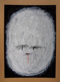 Alien, Malerei, Gesicht