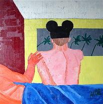 Florida, Acrylmalerei, Ölmalerei, Mischtechnik