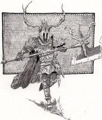 Mittelalter, Zeichnung, Rtter, Wiking
