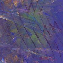 Blau, Geist, Kreativ, Linie