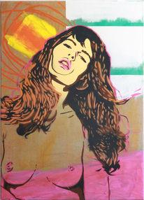 Acrylmalerei, Popart, Malerei, Pop