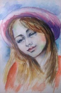 Portrait, Frauenportrait, Gesicht, Schön