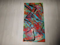 Malen, Abstrakt, Gemälde, Dekoration