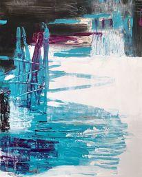 Modern art, Abstrakt, Acrylmalerei, Malerei