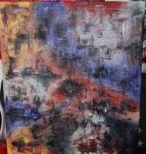 Malerei, Acrylmalerei, Abstrakte kunst, Acrylpainting