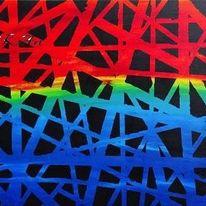 Gemälde, Abstrakt, Malerei, Acrylpainting