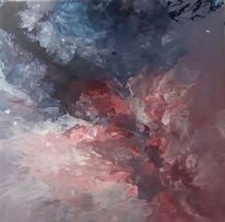 Acrylmalerei, Modern, Abstrakt, Mischtechnik