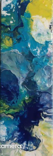 Acrylmalerei, Abstrakt, Malerei, Modern
