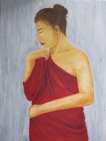Kleid, Ölmalerei, Gemälde, Acrylmalerei